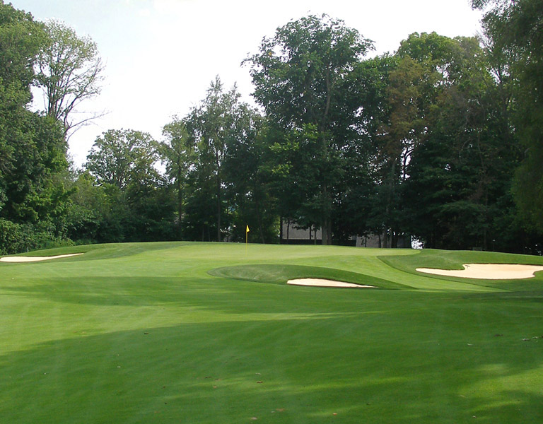 Hole 16 after renovations