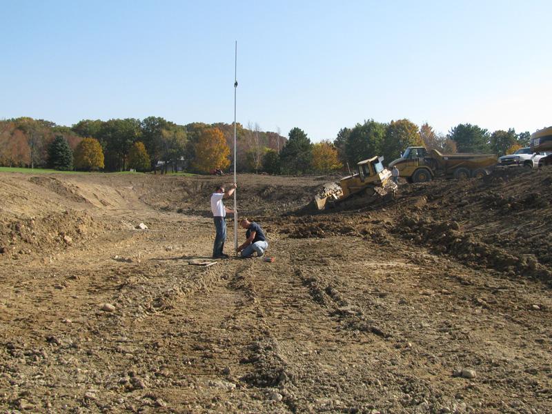 Hole 6 Pond Construction
