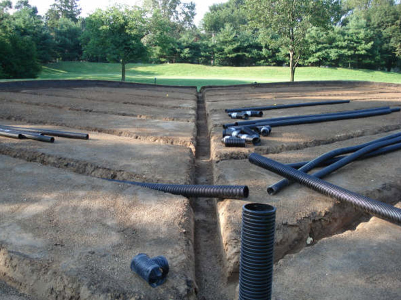 Westmoreland Country Club Drainage Install