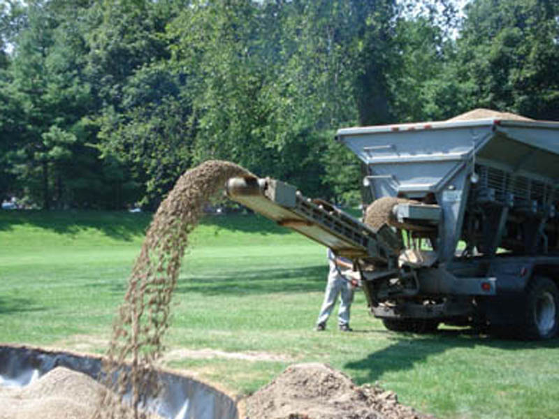 Westmoreland Country Club Gravel Slinging